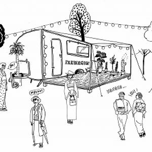 移動ワゴン発の新しい日本のフード&カルチャー!渋谷パルコで「旅するパルワゴン」