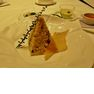 中国湖南料理の「華湘」のピラミッド型に盛り付けられたチャーハンは、1度で3度おいしいお得グルメ