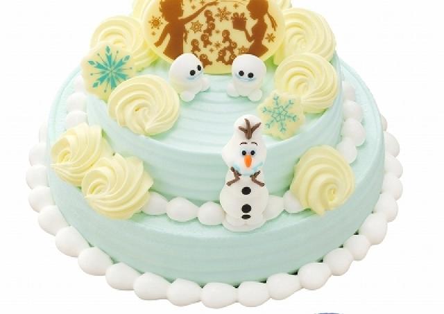 今年もあの雪だるまが登場!サーティワンのディズニーXmasケーキ