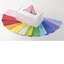 1色分のティッシュの原紙を作るのにも手作業で相当な労力が必要