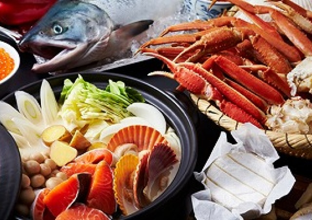 冬の味覚満載の「北海ごちそうブッフェ」 ホテル日航大阪