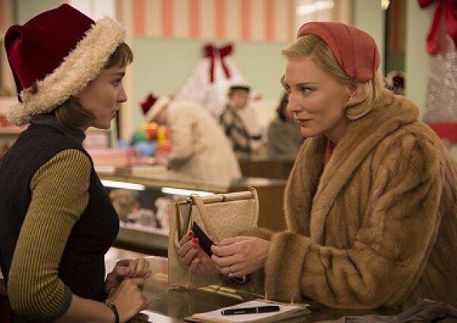 映画「キャロル」/女性同士の禁断の愛 全身から高貴なエロスを発散するブランシェットに注目