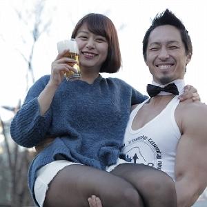 マッチョにお姫様抱っこされながらクラフトビールをグイッ!「マッチョBAR」が原宿に1日限定出店