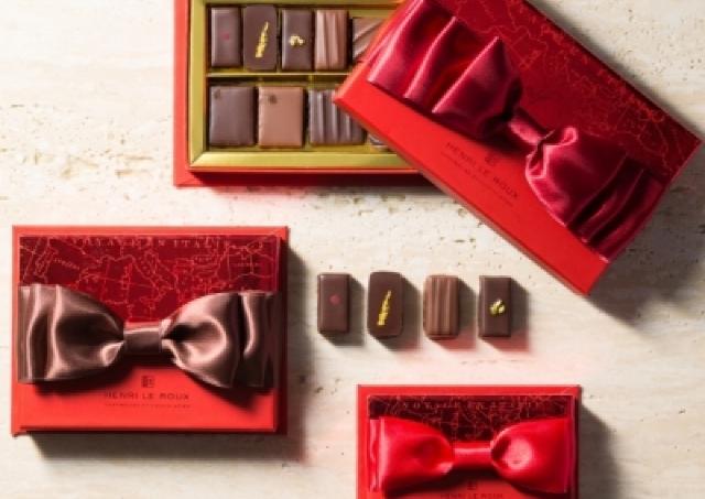 まだ間に合う!大きな赤いリボンが目印 「アンリ・ルルー」のバレンタインショコラ