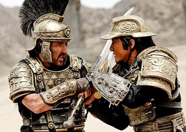 映画「ドラゴン・ブレイド」/紀元前のシルクロードでローマ軍と西域軍が死闘を繰り広げる ジャッキー最新作は興奮の連続