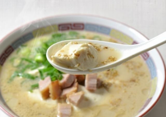 ラーメンの代わりに豆腐! 「一風堂」で豚骨豆腐、1か月限定発売