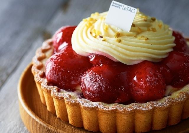 なんて鮮やか!「ルタオ」でイチゴがごろごろのった華やかタルト販売中