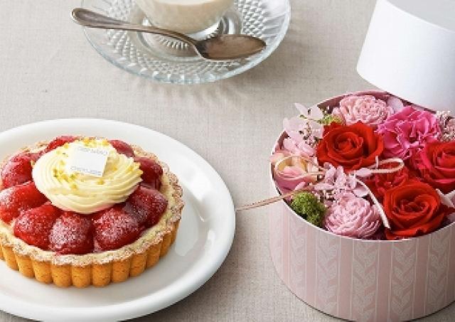 母の日に「感謝の花束」と「スイーツ」を贈る 日比谷花壇×ルタオのギフトセット
