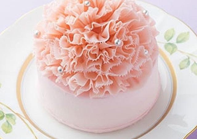 まるで食べるカーネーション!美しすぎる「母の日」ケーキ