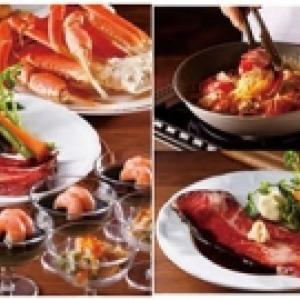 第一ホテル東京シーフォートで「海老・蟹・ビーフ合戦」 GWは豪華食材食べまくり