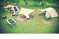 キャンプやピクニックをより優しい雰囲気に。青空と新緑に映える「ナチュラル」シリーズ展開開始。