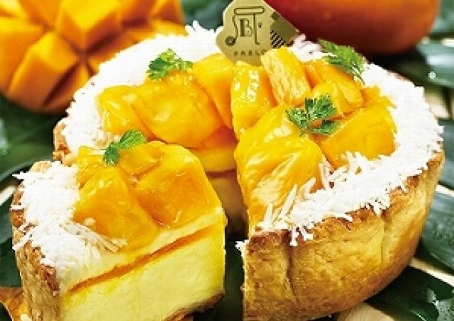 絶対食べたい! PABLOの夏限定「ごろごろマンゴーとココナッツのチーズタルト」