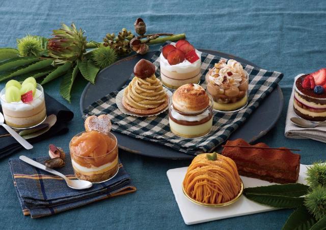 栗、ブドウ、カボチャが勢揃い 豪華すぎる「キハチ」の秋スイーツで食欲の秋到来!