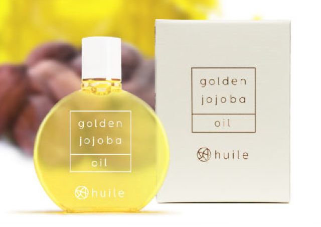 1本で肌にも髪にも全身使える金色のホホバオイル 不純物の少ない高純度
