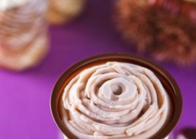ソースがおいしい「モンブラン&キャラメル」アイス 堂島ロールと赤城乳業がコラボ