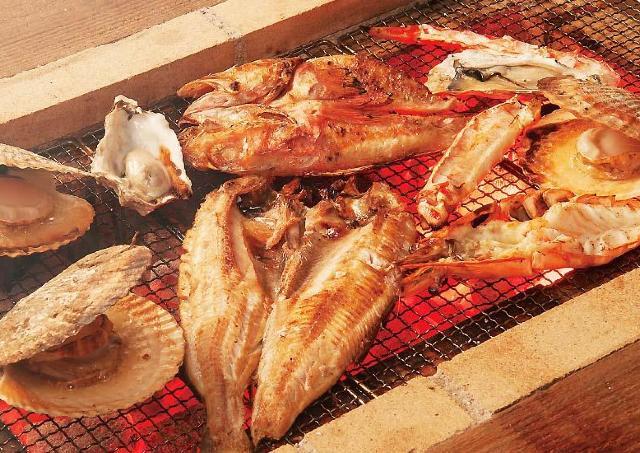 銀座に東京最大級の新グルメスポット 海鮮炭火焼BBQを屋内で楽しむ「銭函バーベキュー」