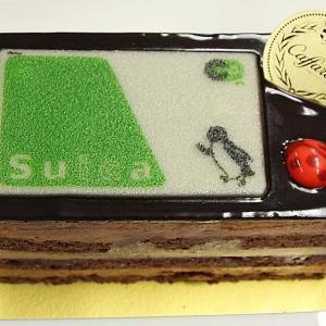 Suicaカードがケーキになってる! 自慢したいグランスタの「Xmasケーキ」食べてきた