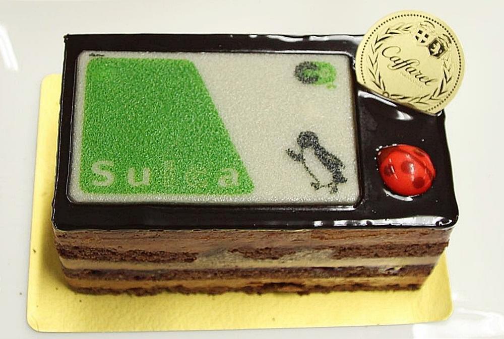 Suicaカードがケーキになってる 自慢したいグランスタの Xmasケーキ 食べてきた 東京バーゲンマニア