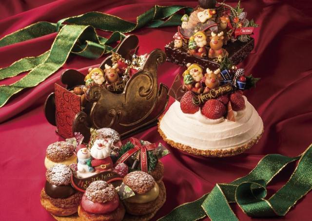 サンタ、トナカイがかわいすぎ! オリエンタルホテル 東京ベイのXmasケーキ予約開始