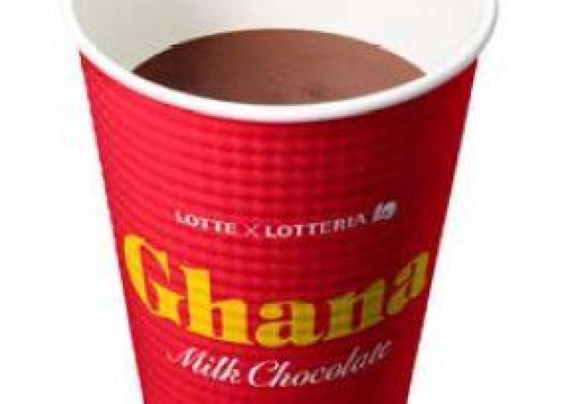 「ガーナ」の濃厚シェーキやホットチョコレート ロッテリアに期間限定で登場