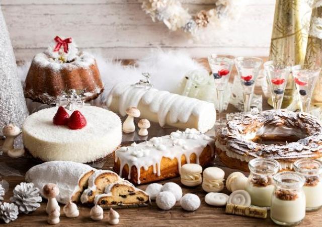 まるで白銀の世界...! 大人がワクワクする「ホワイトクリスマス デザートブッフェ」