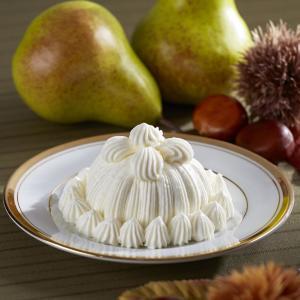 裏ごしした栗と洋梨クリームがたっぷり 伝統の味「マロンシャンテリー」から秋限定の味