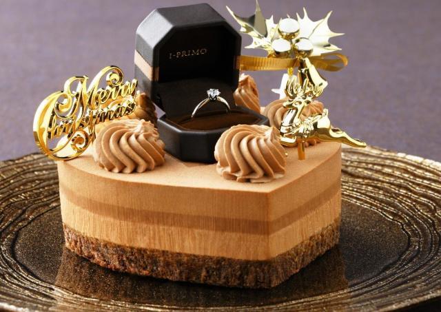 【開けてびっくり】プロポーズ専用Xmasケーキ サプライズ演出を助ける限定プラン発売