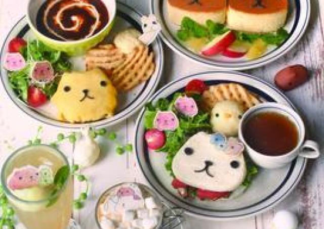 カピバラさんのコラボカフェ HANDS CAFE梅田店にOPEN