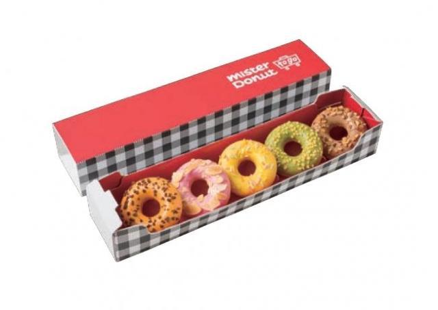 ミスドの新業態「Mister Donut to go」がオープン ギフトにぴったりのテイクアウト専門店
