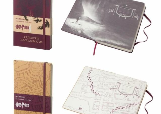 ハリポタファン必見! 呪文や魔法アイテムが詰まった魔法のノート、モレスキンから