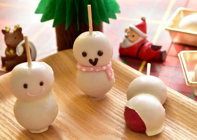 お菓子作りが苦手な人でも超かんたん! 子どもも作れる「雪だるま団子」で手作りXmas
