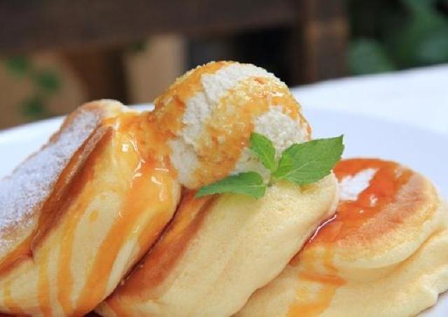 表参道や大阪で大人気! 国内9店舗目の「幸せのパンケーキ」