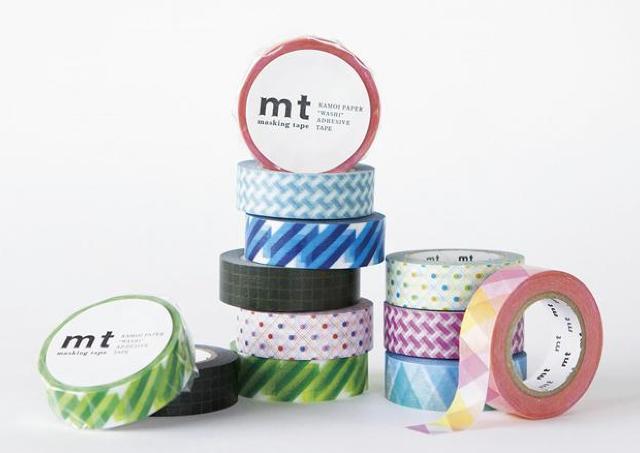 世界中から注目 マスキングテープ「mt」を大特集!