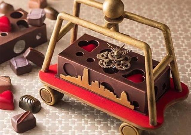 「ホテルのカート」がチョコに変身 横浜ベイホテル東急のバレンタインギフト