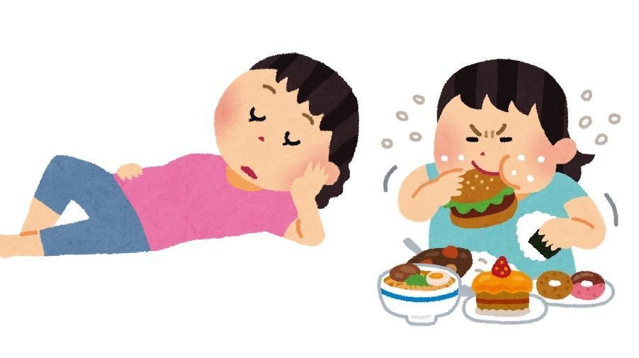 を なる 眠く もの 食べる と 甘い