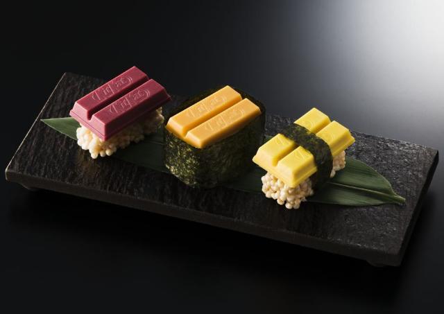 なんという遊び心! 「寿司キットカット」銀座で500人にプレゼント
