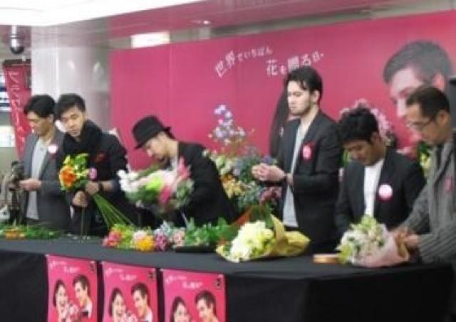 静岡県産のお花と地元フローリストが大活躍!フラワーバレンタイン