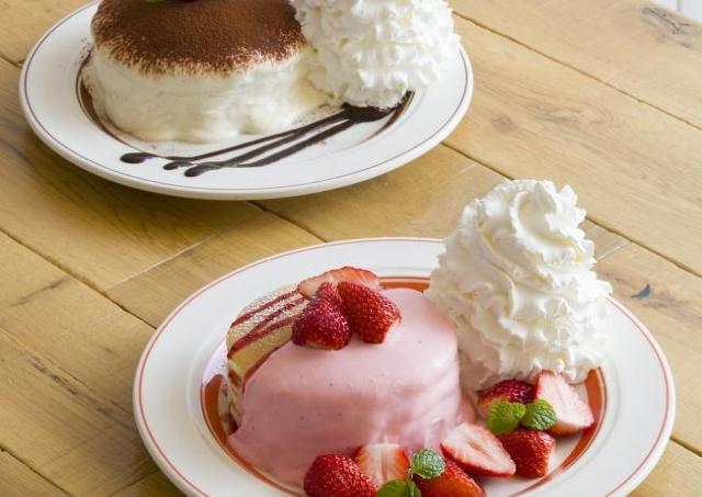 チーズクリームとろ~り! Eggs 'n Things7周年の特別パンケーキがおいしそすぎる