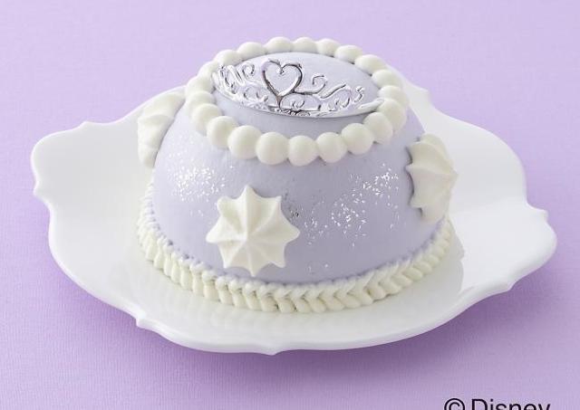 ラベンダー色がかわいすぎ 「ちいさなプリンセス ソフィア」のドレスケーキ予約受付中
