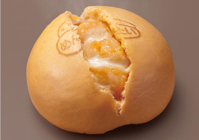 ホクホク&とろ~り! セブンの「明太チーズポテトまん」