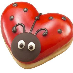 幸運が訪れるかも てんとう虫ドーナツ、クリスピークリームに出現!