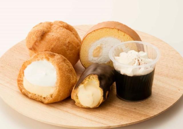 糖質30%カット! シュークリームもロールケーキもおいしさそのまま