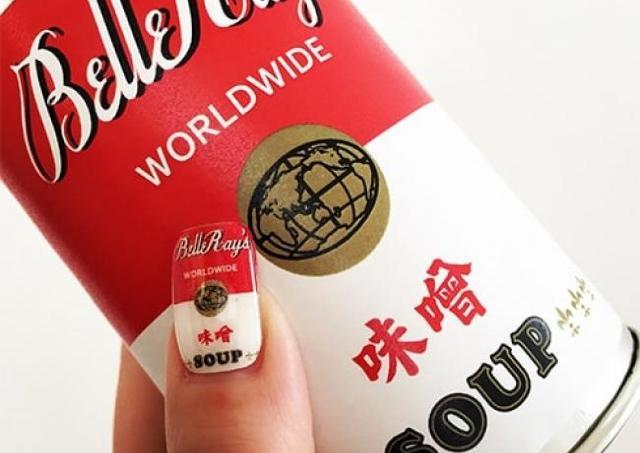 今日は何味にする? 世界のスープのネイルシール「BelleRay's」