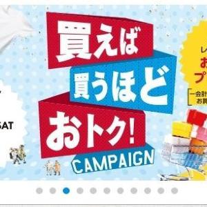 買うほどお得! ダイバーシティ東京プラザで買い物券キャンペーン