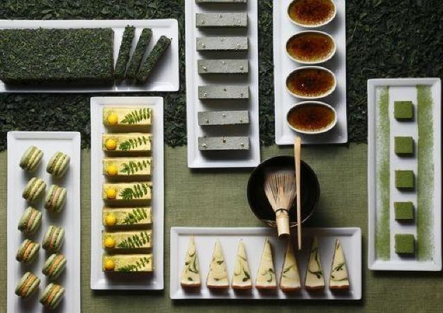 35種以上がズラリ 琵琶湖ホテルで「宇治抹茶スイーツビュッフェ」