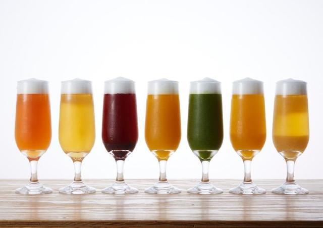 変わり種ビールが飲み放題! 話題の飲み比べ店で「フルーツビールフェア」