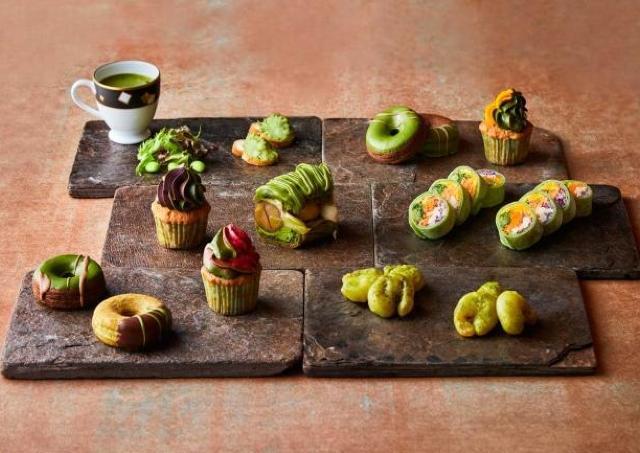 人気ブッフェ「抹茶マニア」 秋食材を加えてパワーアップ!