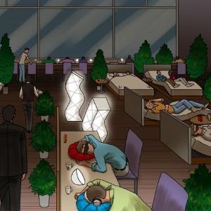 上質ベッドで至福のスヤァ... 500円で3h爆睡できる「睡眠カフェ」