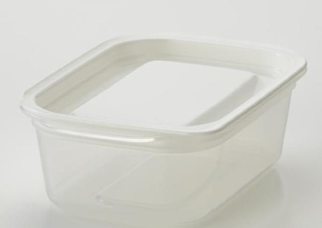 このシンプルさ、最高です...! イオン「白タッパー」がインスタで大注目