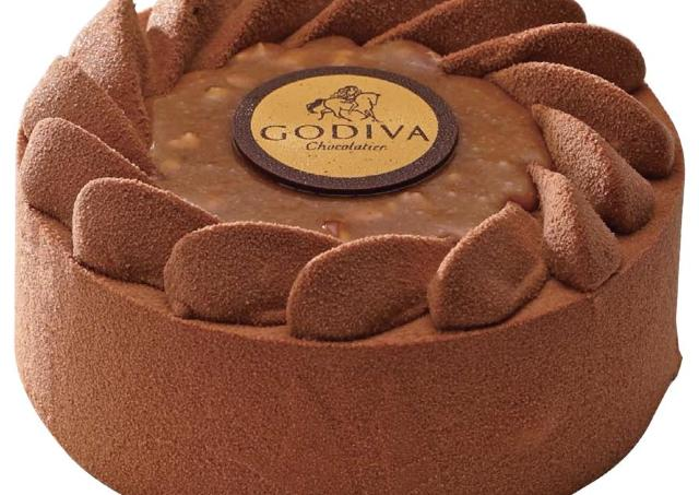 ゴディバのXmasケーキは「ジャンドゥーヤ」 コーヒー&ナッツが香る上品な味わい